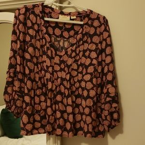 MAVE by Anthropologie size small floral top